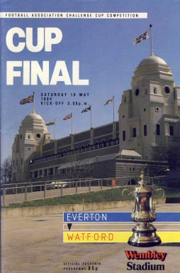 The FA Cup Final 1984 Match Programme