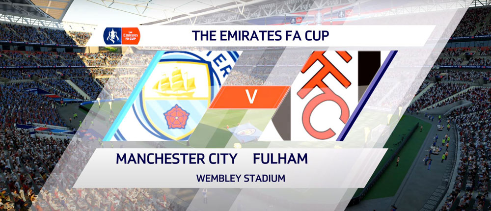 Fifa 20 FA Cup Final: Manchester City vs Fulham